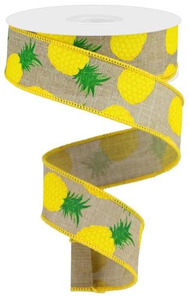 1.5″X10YD Pineapple Ribbon