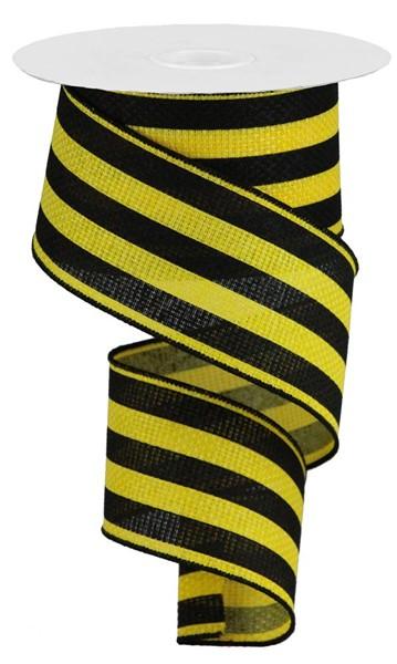 2.5″X10YD Vertical Stripe Ribbon